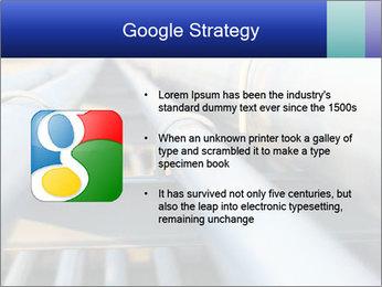 Detail of steel PowerPoint Template - Slide 10