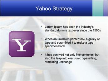 Detail of steel PowerPoint Template - Slide 11