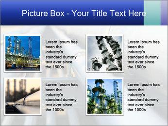 Detail of steel PowerPoint Template - Slide 14