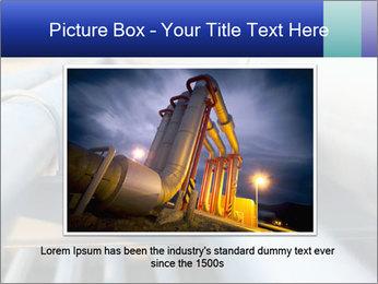 Detail of steel PowerPoint Template - Slide 15