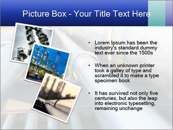 Detail of steel PowerPoint Template - Slide 17
