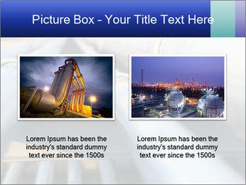 Detail of steel PowerPoint Template - Slide 18