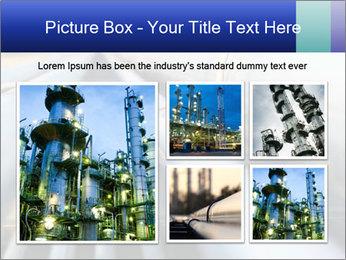Detail of steel PowerPoint Template - Slide 19
