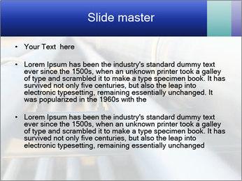 Detail of steel PowerPoint Template - Slide 2