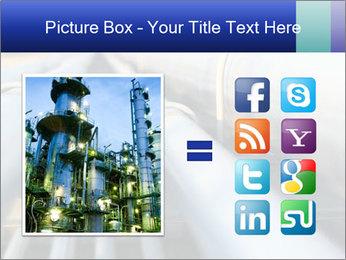 Detail of steel PowerPoint Template - Slide 21