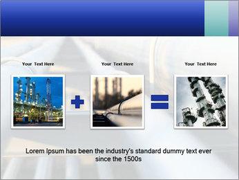 Detail of steel PowerPoint Template - Slide 22
