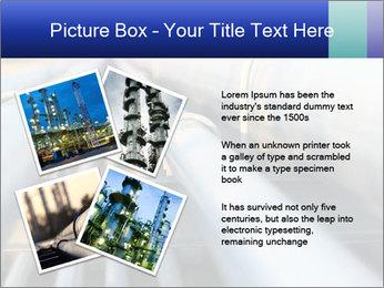 Detail of steel PowerPoint Template - Slide 23