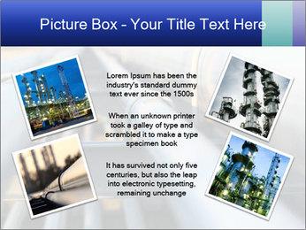 Detail of steel PowerPoint Template - Slide 24