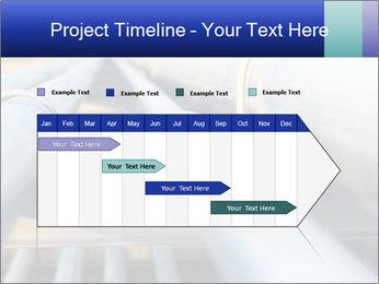 Detail of steel PowerPoint Template - Slide 25