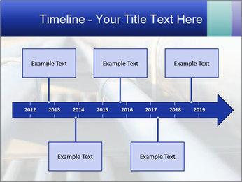 Detail of steel PowerPoint Template - Slide 28