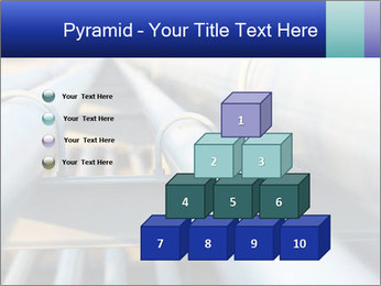 Detail of steel PowerPoint Template - Slide 31