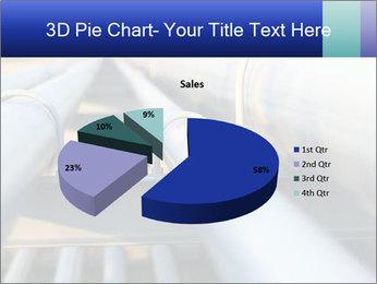 Detail of steel PowerPoint Template - Slide 35