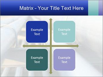 Detail of steel PowerPoint Template - Slide 37