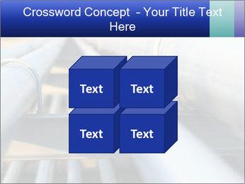 Detail of steel PowerPoint Template - Slide 39