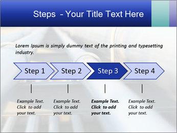 Detail of steel PowerPoint Template - Slide 4