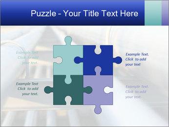 Detail of steel PowerPoint Template - Slide 43