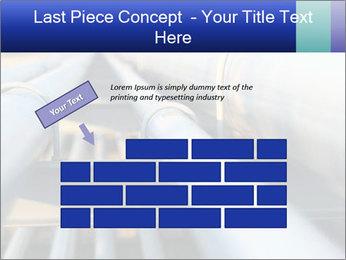 Detail of steel PowerPoint Template - Slide 46