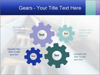 Detail of steel PowerPoint Template - Slide 47