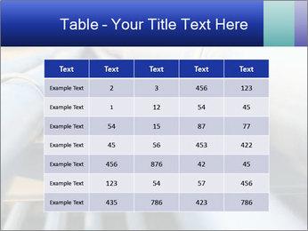 Detail of steel PowerPoint Template - Slide 55