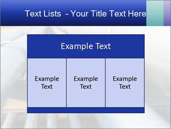 Detail of steel PowerPoint Template - Slide 59