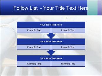 Detail of steel PowerPoint Template - Slide 60