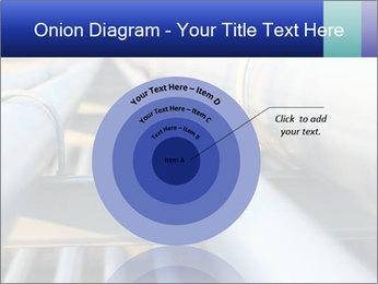 Detail of steel PowerPoint Template - Slide 61
