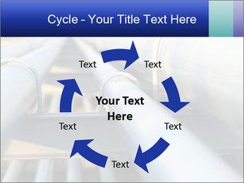 Detail of steel PowerPoint Template - Slide 62
