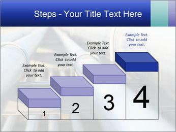 Detail of steel PowerPoint Template - Slide 64
