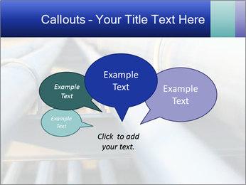 Detail of steel PowerPoint Template - Slide 73