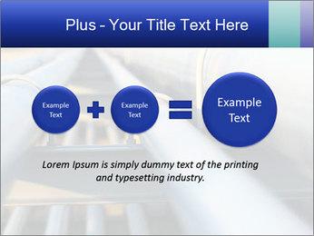 Detail of steel PowerPoint Template - Slide 75