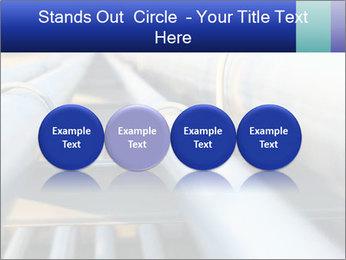 Detail of steel PowerPoint Template - Slide 76