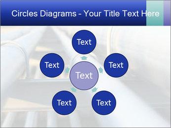 Detail of steel PowerPoint Template - Slide 78