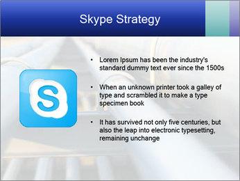 Detail of steel PowerPoint Template - Slide 8
