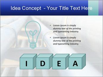 Detail of steel PowerPoint Template - Slide 80