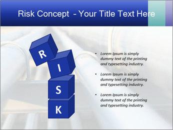 Detail of steel PowerPoint Template - Slide 81