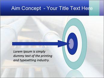Detail of steel PowerPoint Template - Slide 83