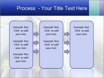 Detail of steel PowerPoint Template - Slide 86
