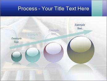 Detail of steel PowerPoint Template - Slide 87