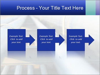 Detail of steel PowerPoint Template - Slide 88