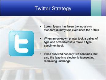 Detail of steel PowerPoint Template - Slide 9