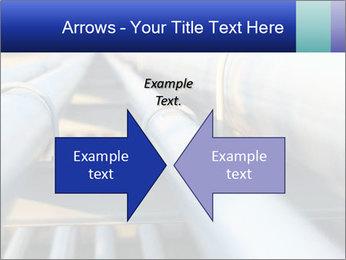 Detail of steel PowerPoint Template - Slide 90