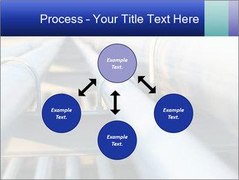 Detail of steel PowerPoint Template - Slide 91