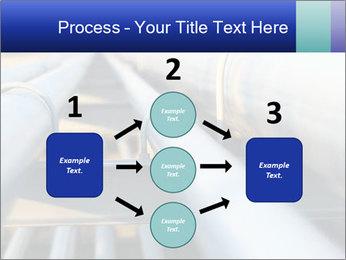 Detail of steel PowerPoint Template - Slide 92
