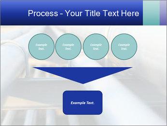 Detail of steel PowerPoint Template - Slide 93