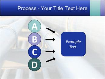 Detail of steel PowerPoint Template - Slide 94
