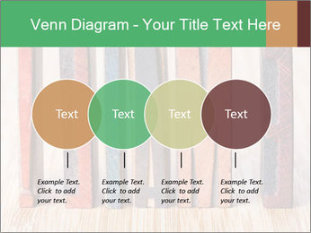 Colored vintage letterpress PowerPoint Template - Slide 32
