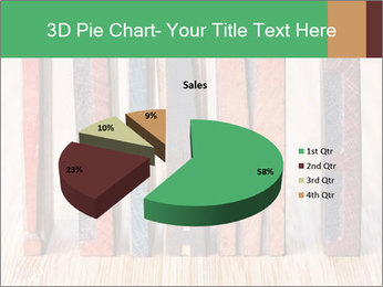 Colored vintage letterpress PowerPoint Template - Slide 35