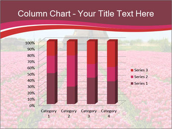 Rows of pink tulips PowerPoint Templates - Slide 50