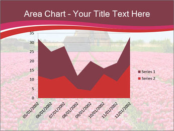 Rows of pink tulips PowerPoint Templates - Slide 53