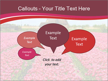 Rows of pink tulips PowerPoint Templates - Slide 73